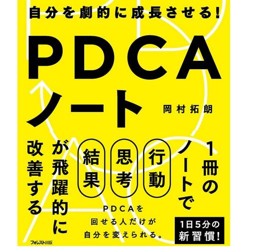「PDCAノート」おすすめのビジネス書