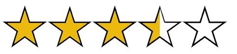 評価:星3つ半