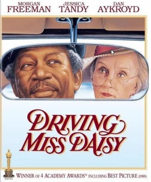 1990年アカデミー賞受賞作「ドライビング・MISS・デイジー」