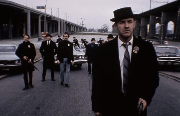 映画「フレンチ・コネクション」より主役を演じたジーン・ハックマン