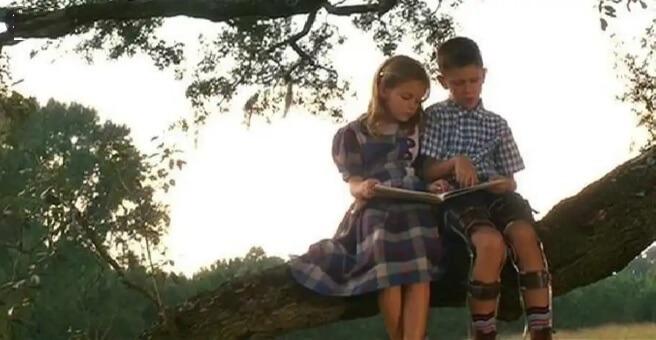 映画「フォレストガンプ」フォレストとジェニー