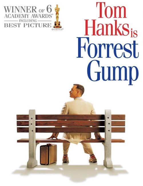 1990年代名作映画『フォレスト・ガンプ』