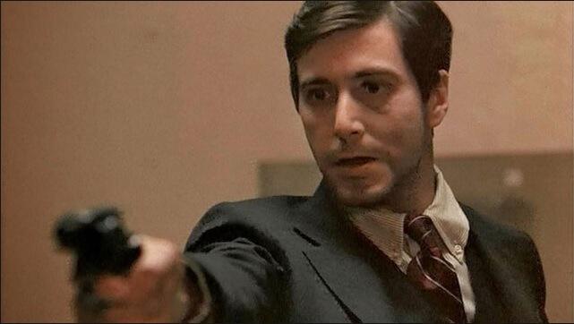 映画『ゴッドファーザー』で準主役を演じたアル・パチーノ
