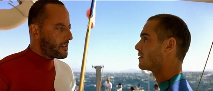 映画「グラン・ブルー」よりジャン・レノ演じるエンゾと主人公のジャック