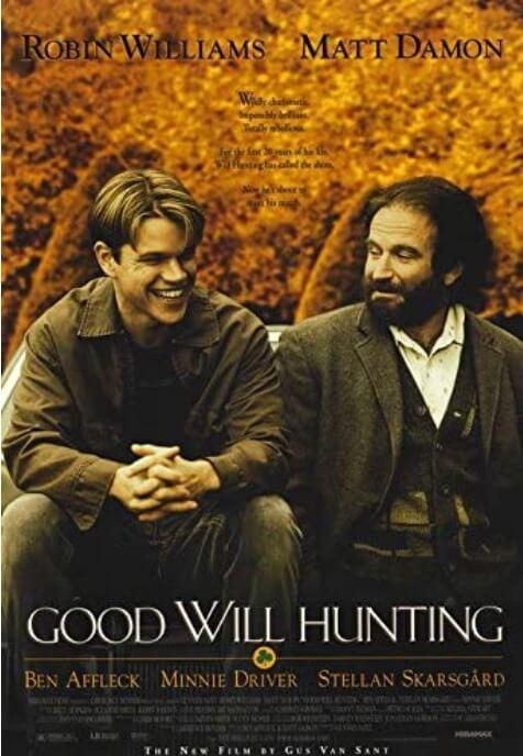 90年代のおすすめ洋画『グッド・ウィル・ハンティング/旅立ち』