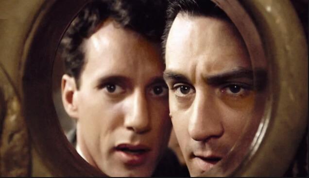 映画「『ワンス・アポン・ア・タイム・イン・アメリカ』主人公ヌードルスを演じるロバート・デニーロ