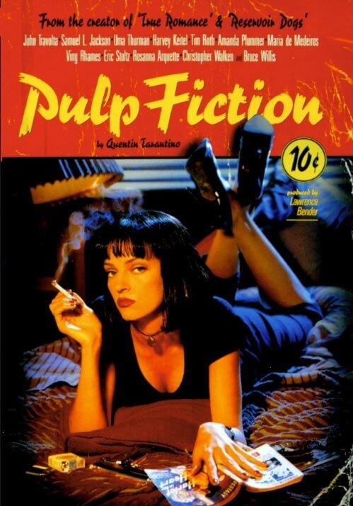 90年代のおすすめ洋画『パルプ・フィクション』