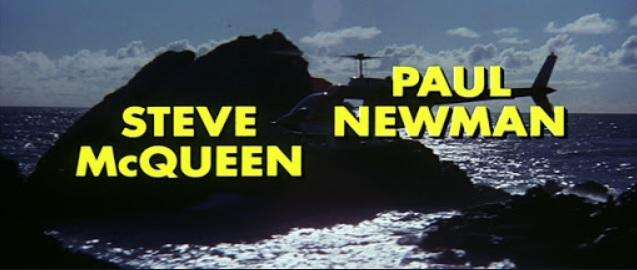 映画『タワーリング・インフェルノ』スティーブ・マックィーンとポール・ニューマンのクレジットの位置