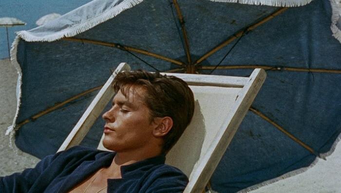 映画『太陽がいっぱい』から主役のアラン・ドロン